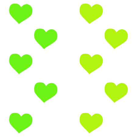 Lovely heart wallpaper. heart shapes in different colors for Valentines Day background.