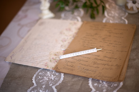 wedding wishes: wedding detail, book wedding wishes