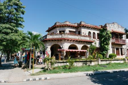 varadero: CUBA, VARADERO - SEPTEMBER 16, 2016: house in Cuba