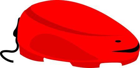 Illustration of  red colour stabiliser  illustration