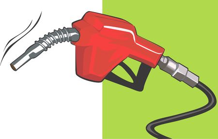filler: Illustration of a reed fuel filler  Stock Photo