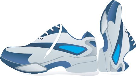 missionary: Sports shoes using in sports