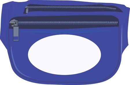 medicament: Illustration of blue medical bag