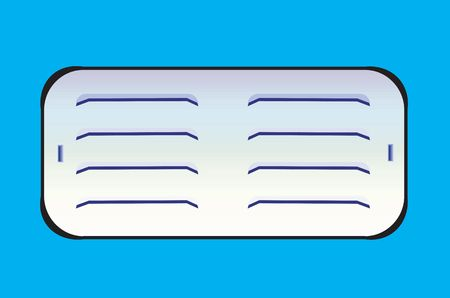 filtering: Illustration of an exhaust filtering board made of metal