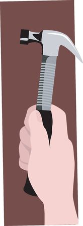 toughness: Illustration of metallic hammer