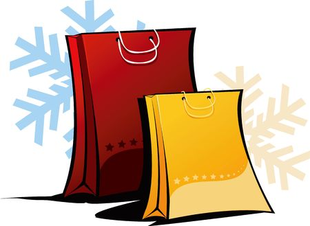 citylife: Illustration of two shopping bags