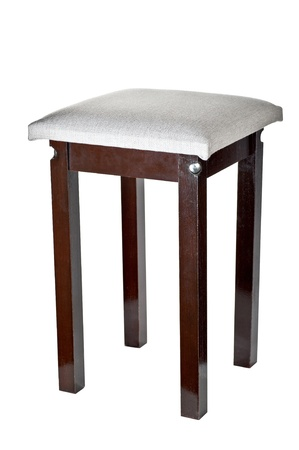 Kitchen stool it is isolated on a white background Stock Photo