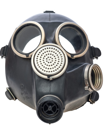 Gas mask  Isolated render on a white background