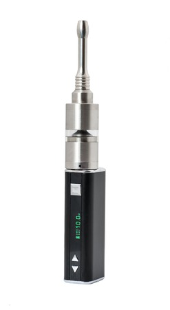 atomizer: Electronic Cigarette with stranded atomizer isolated on white background