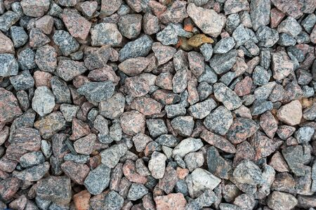 photo background of small eamens of granite and pebbles Stok Fotoğraf