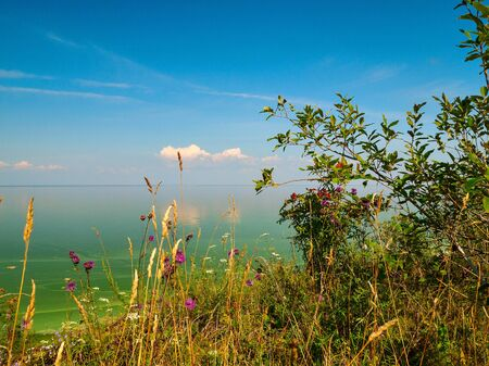 view of the lake Ilmen Novgorod region Russia