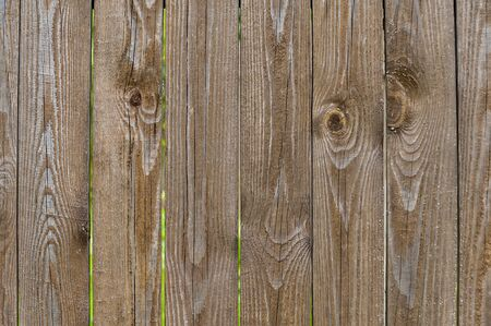 not window painted wooden fence made of boards close-up