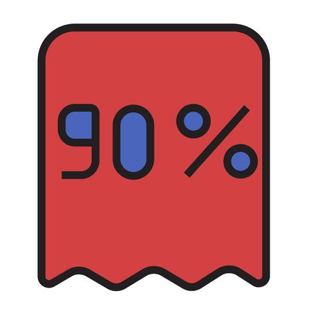 Kortingscontrole pictogram
