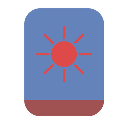 Backlit phone icon