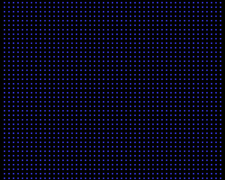 A blue abstract background on a checkered presentation.