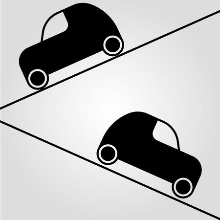 車ベクトルイラスト