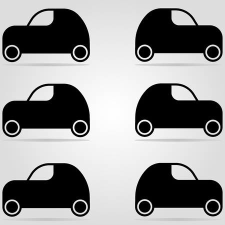Cars vector illustration