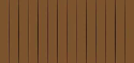 Wooden planks vector illustration. Wooden surface background Vettoriali