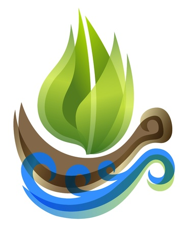 ecological icon  Vector