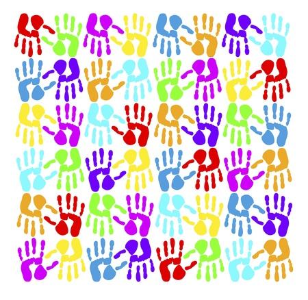 originality: handprints