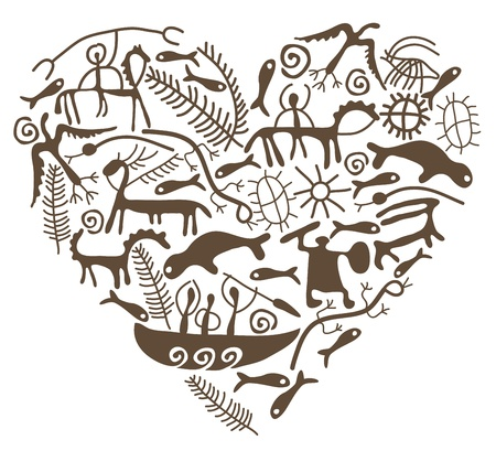 caveman: shamanic heart