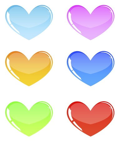 hearts Stock Vector - 18826137