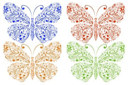 butterflies Stock Vector - 18826865