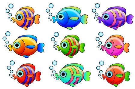 fishes Stock Vector - 18826909