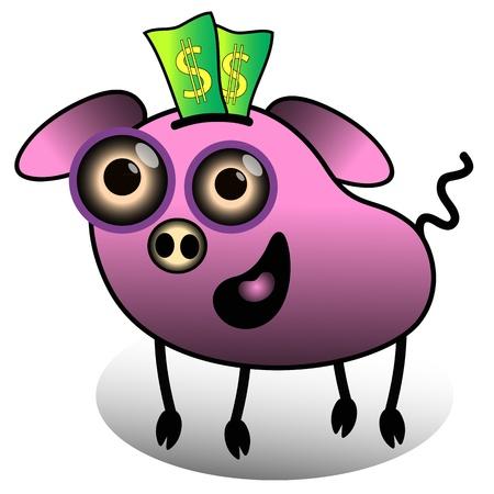 bank of america: pig piggy bank