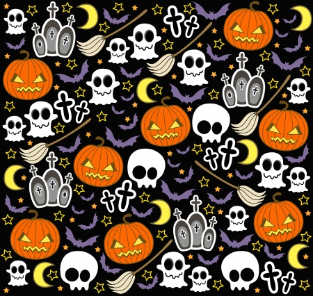 time fly: halloween background