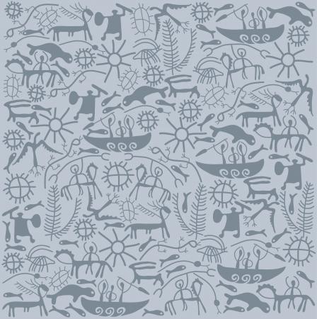 shamanic: shamanic background Illustration
