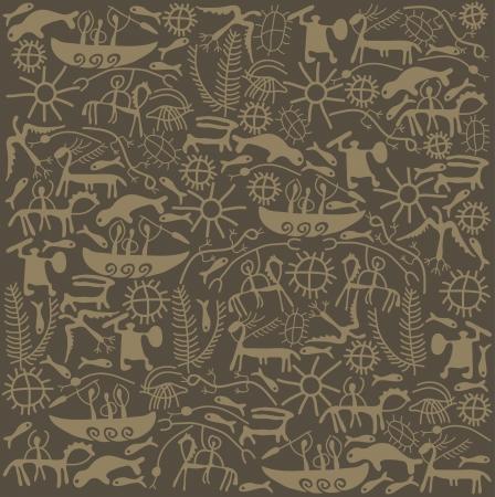 shaman: shaman brown background