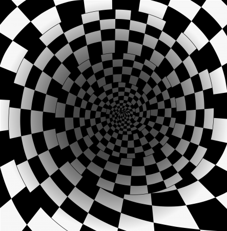 abyss: abstract chess background  Illustration