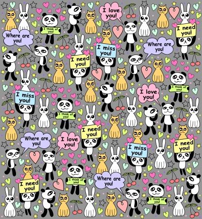 boredom: background with amazing animals