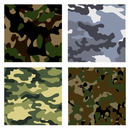 military backgrounds Illustration