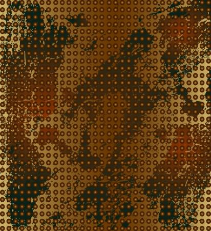 oxidation: rusty metal background