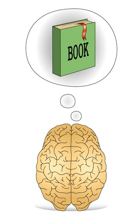 Brain to think about the books
