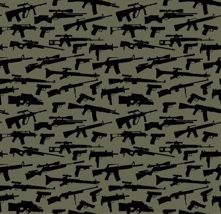 Arma vector de fondo transparente Ilustración de vector