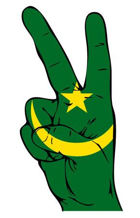 moorish: Peace Sign of the Moorish flag