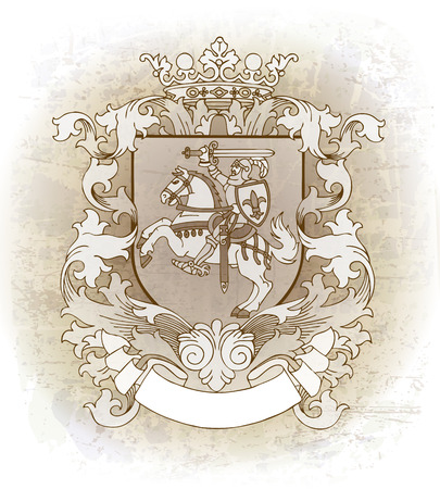 majesty: Coat of arms  Illustration