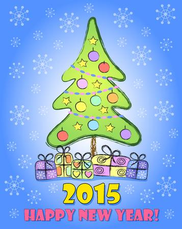 ard: Happy New Year сard