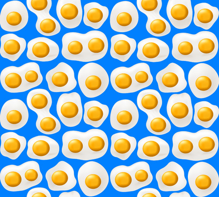 dioxin: Fried eggs. Seamless background