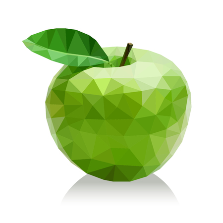 manzana verde: manzana verde polígono