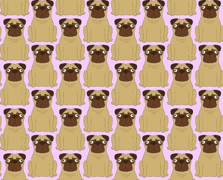 clonacion: Perros divertidos. De fondo sin fisuras