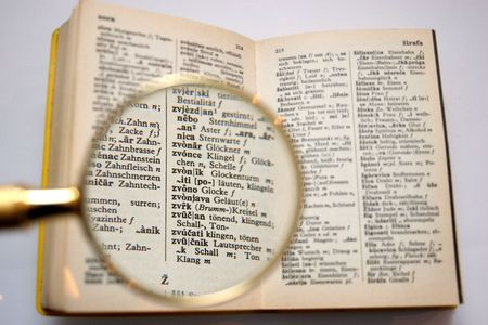 lexicon: a little serbocroatian-german dictionary with a clack