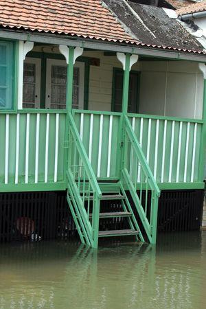 deluge: deluge Stock Photo