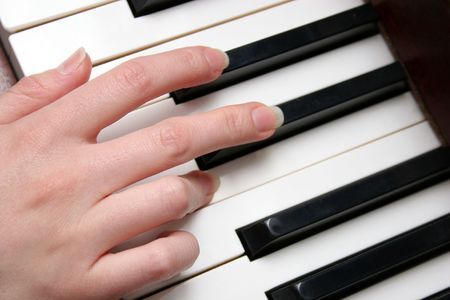 of mozart: fingers piano