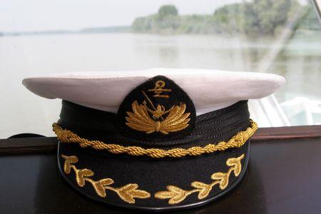 ferry cap Stock Photo