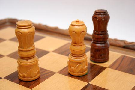 Schachmatt: K�nig st�rzte, Schachmatt