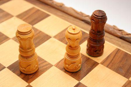 checkmate: King crashed, checkmate